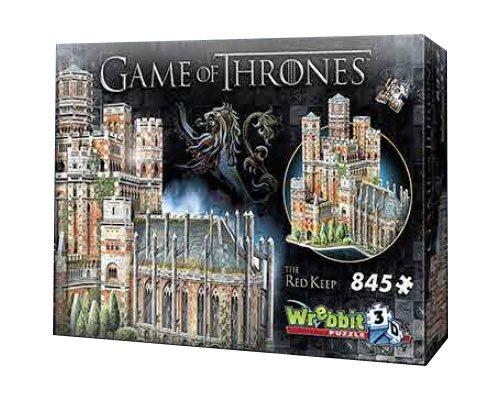 GAME OF THRONES - Puzzle 3D - Le Donjon Rouge - 845 pces