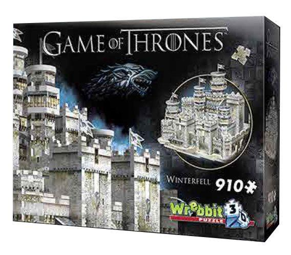 GAME OF THRONES - Puzzle 3D - Winterfell - 910 pces