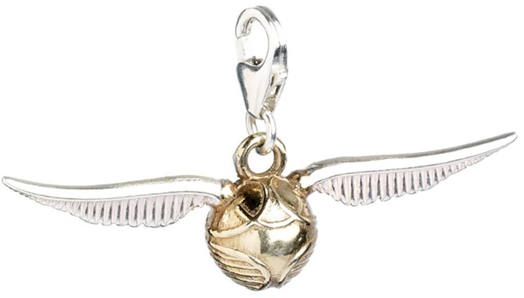 HARRY POTTER - Sterling SILVER Golden Snitch Clip On Charm
