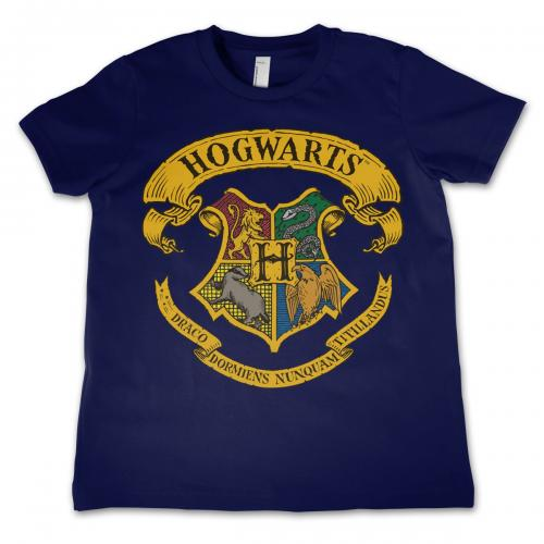 HARRY POTTER - T-Shirt Enfant Hogwarts - Bleu (4 Ans)