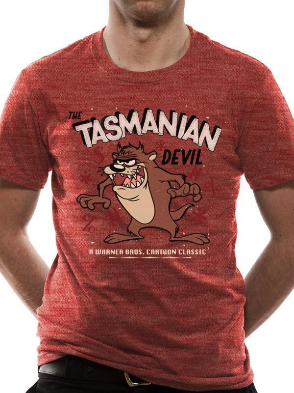 LOONEY TUNES - T-Shirt IN A TUBE- Tazmania Devil (S)