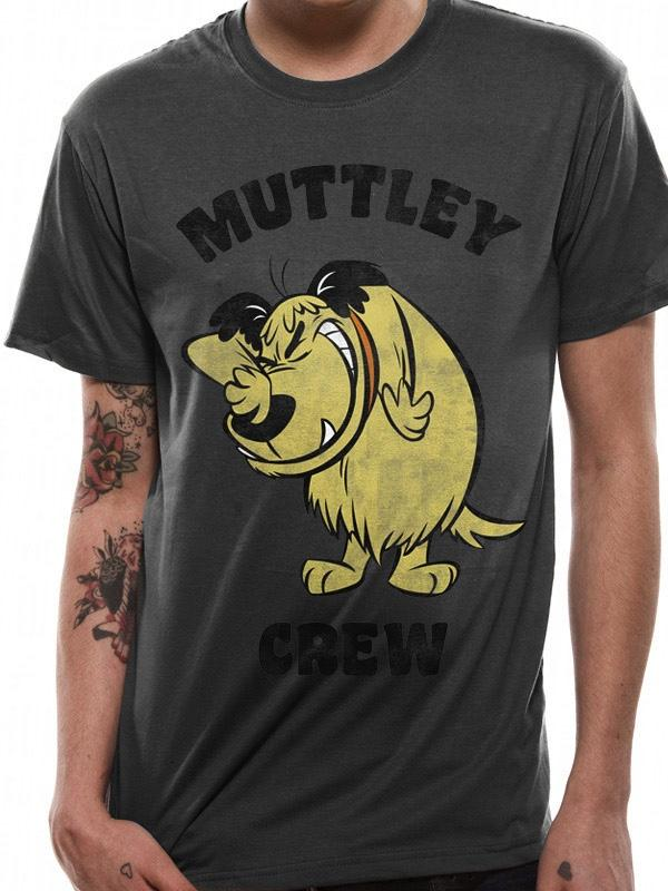 WACKY RACES - T-Shirt IN A TUBE- Muttley Crew (S)