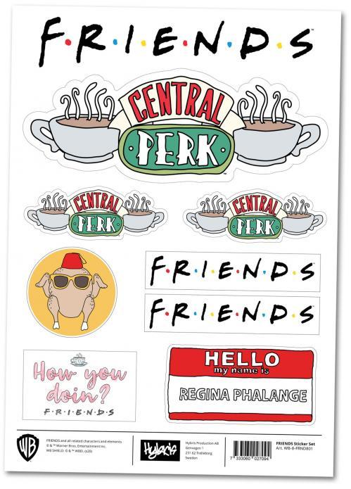 FRIENDS - Stickers officiels 20x30cm