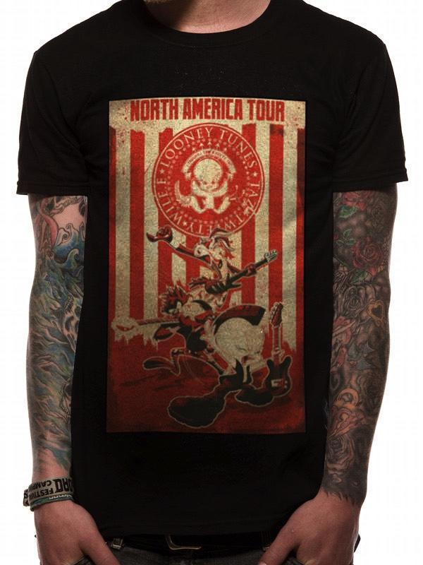 LOONEY TUNES - T-Shirt - North America Tour (S)