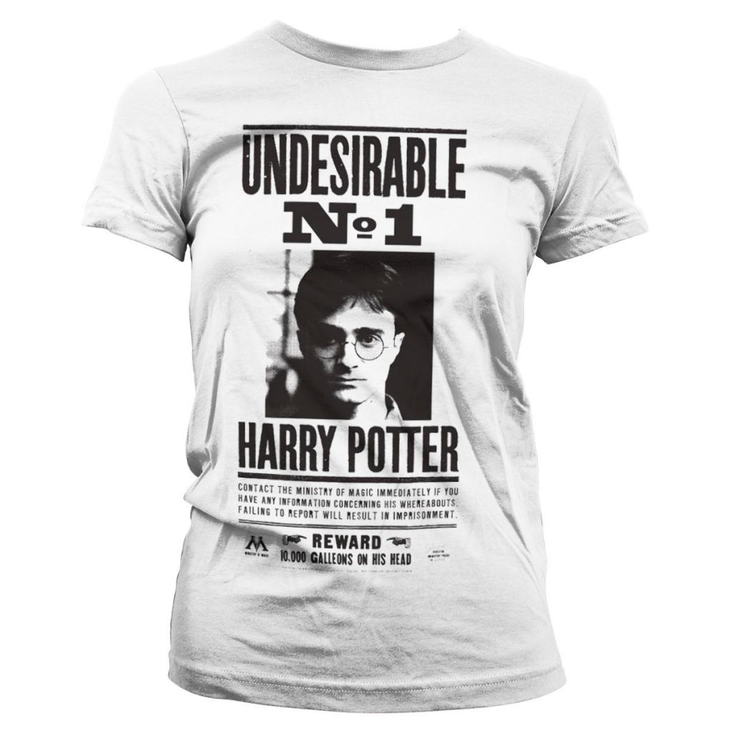 HARRY POTTER - T-Shirt Wanted Poster - GIRL (L)