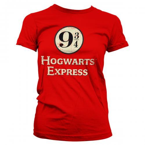 HARRY POTTER - Platform 9 3/4 - T-Shirt Girl (S)
