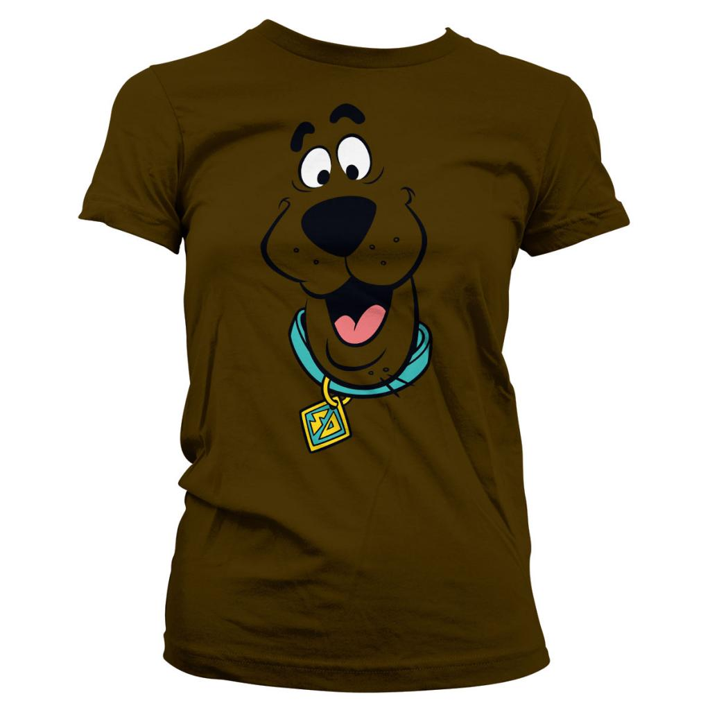 SCOOBY-DOO - T-Shirt Scooby Doo Face - GIRL (L)