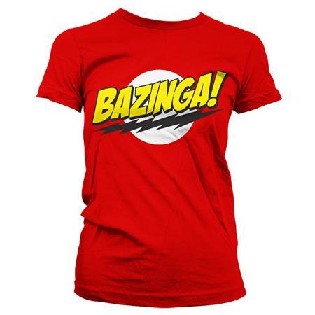 THE BIG BANG THEORY - T-Shirt Super Logo Girly (S)