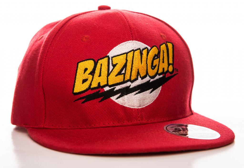 BIG BANG THEORY - Casquette - Bazinga Super Logo