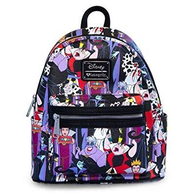 DISNEY - Villains AOP Mini Backpack 'LoungeFly'