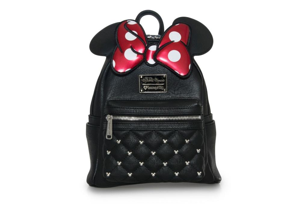 DISNEY - Mini sac à dos Minnie Bow 'LoungeFly'_2