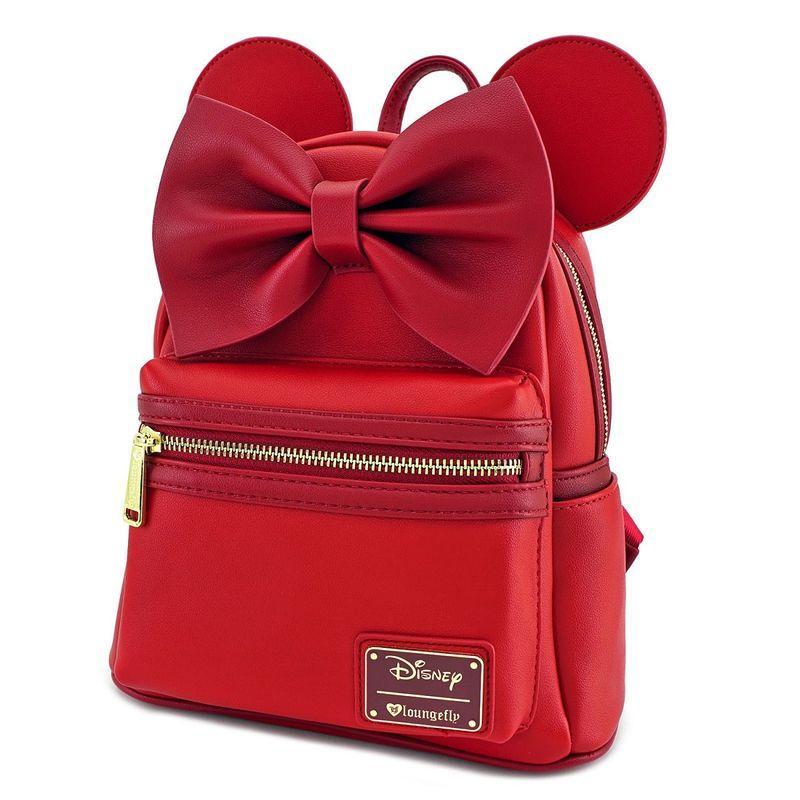 DISNEY - Minnie Ears Mini Backpack 'LoungeFly'