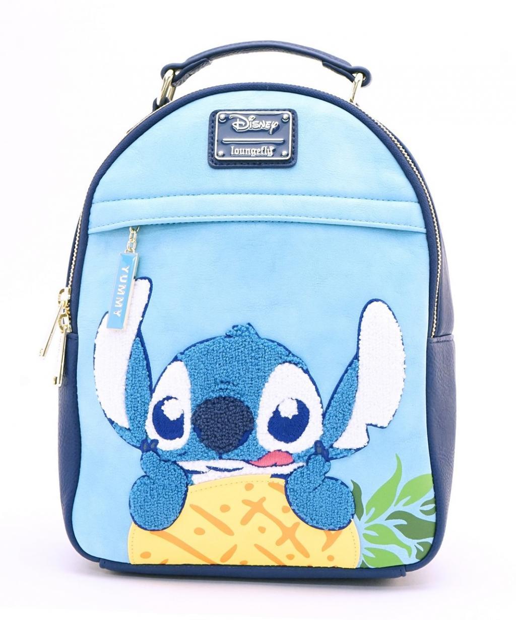 DISNEY - Lilo & Stitch Pineapple Mini Backpack 'LoungeFly'