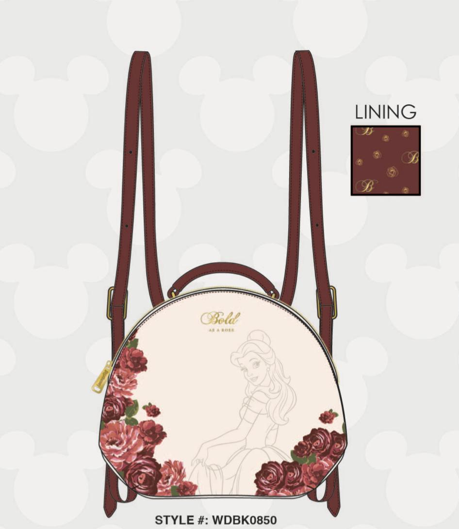 DISNEY - Sleeping Beauty Mini Backpack 'LoungeFly'