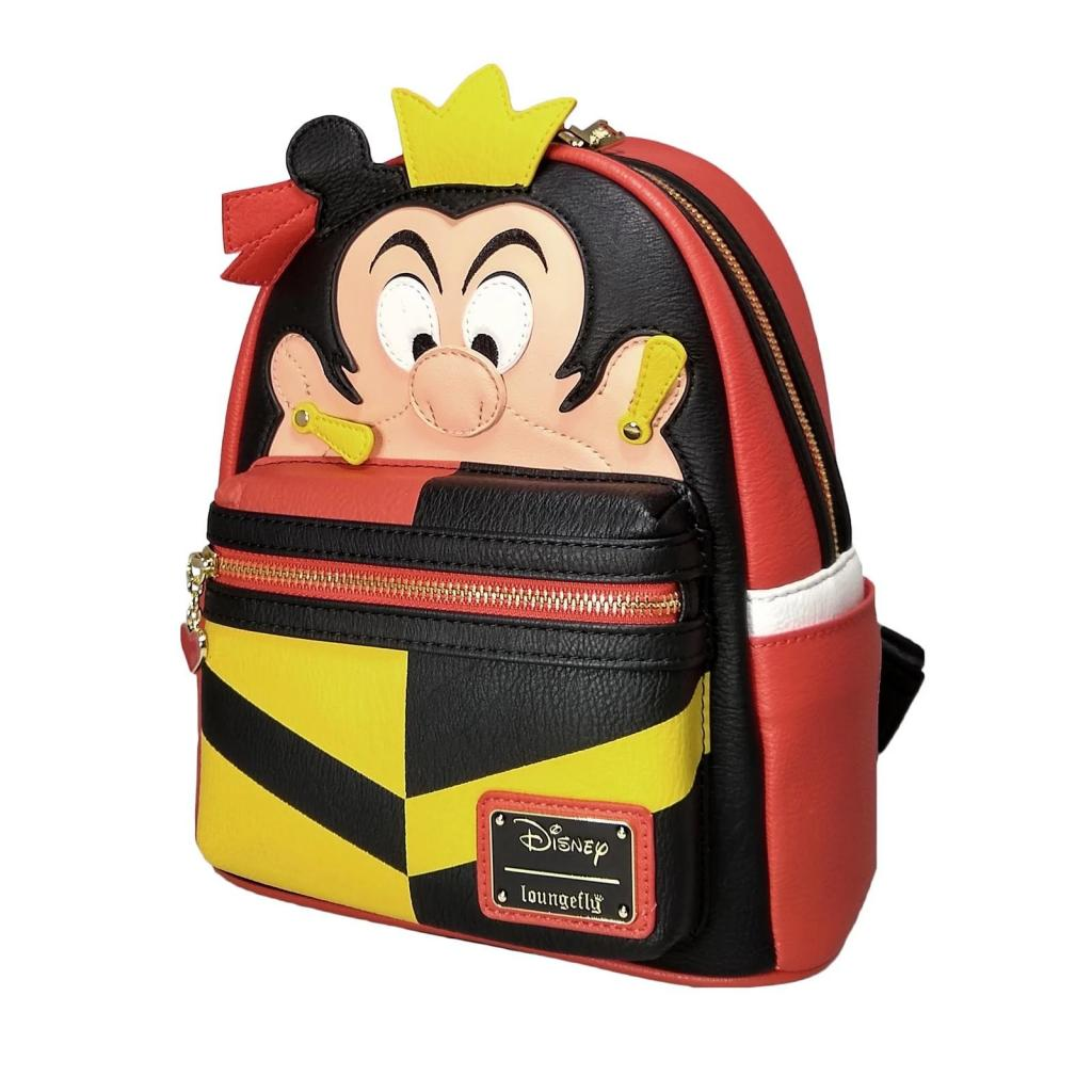DISNEY - Queen of Hearts Mini Backpack 'LoungeFly'