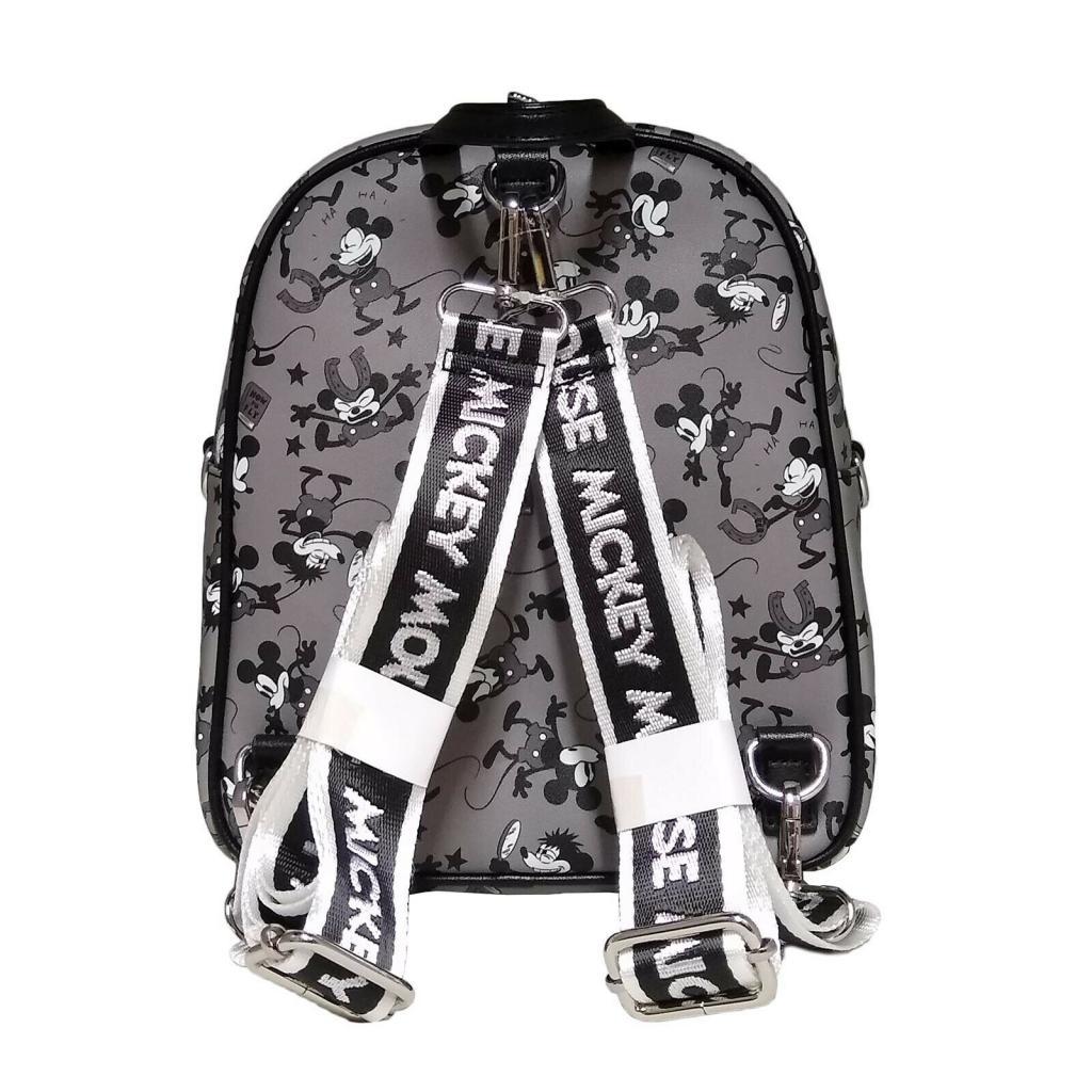 DISNEY - Mini sac à dos Mickey Mouse Black & White 'LoungeFly'_2