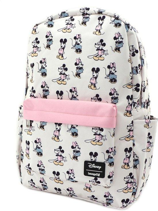 DISNEY - Pastel Minnie Mickey - Sac à dos 'LoungeFly'_2