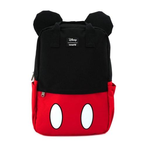 DISNEY - Mickey Mouse Cosplay Square Nylon Backpack 'LoungeFly'