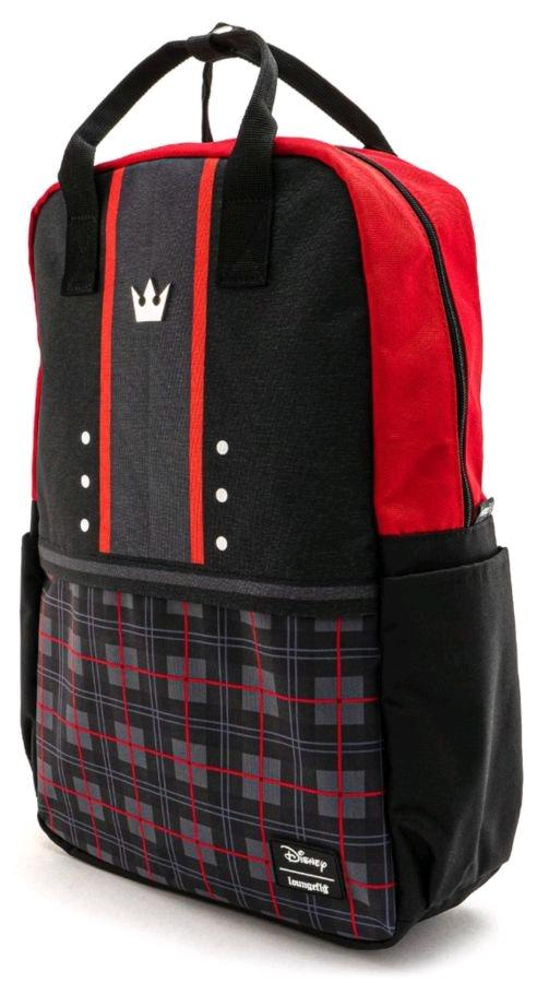 KINGDOM HEARTS - Sora Square Nylon Backpack 'LoungeFly'