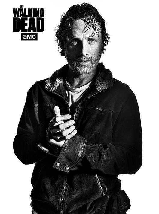 WALKING DEAD - Canvas 60X80 '18mm' - Rick
