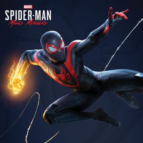 SPIDER-MAN MILES MORALES - Electric Fist - Canvas 40x40cm