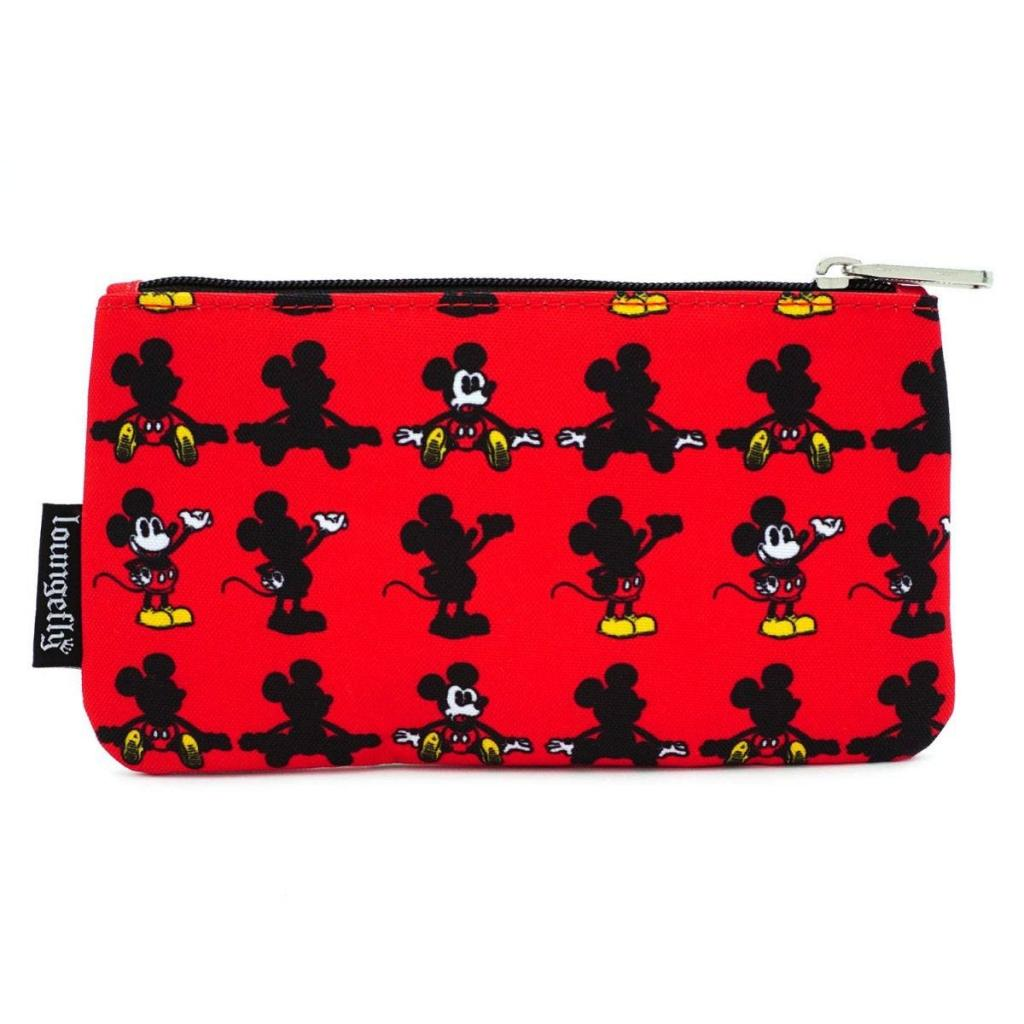 DISNEY - Mickey Parts Nylon Pouch 'LoungeFly'