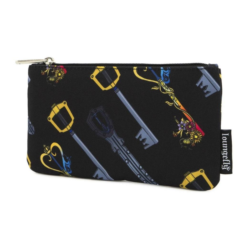 KINGDOM HEARTS - Keys Nylon Pouch 'LoungeFly'