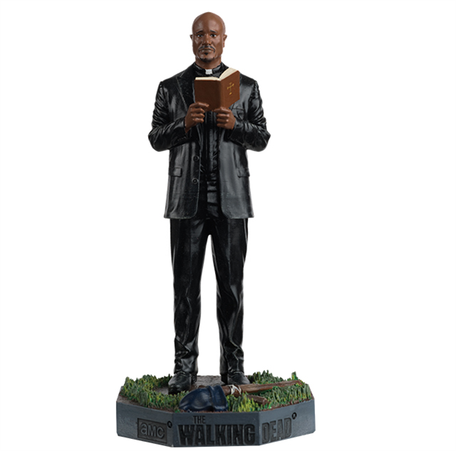WALKING DEAD - Figurine Collection 1/21 - Father Gabriel_1