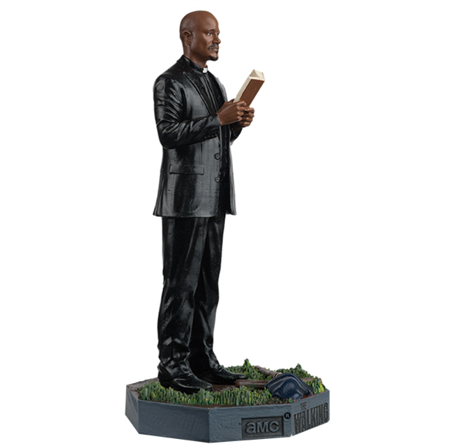 WALKING DEAD - Figurine Collection 1/21 - Father Gabriel_3