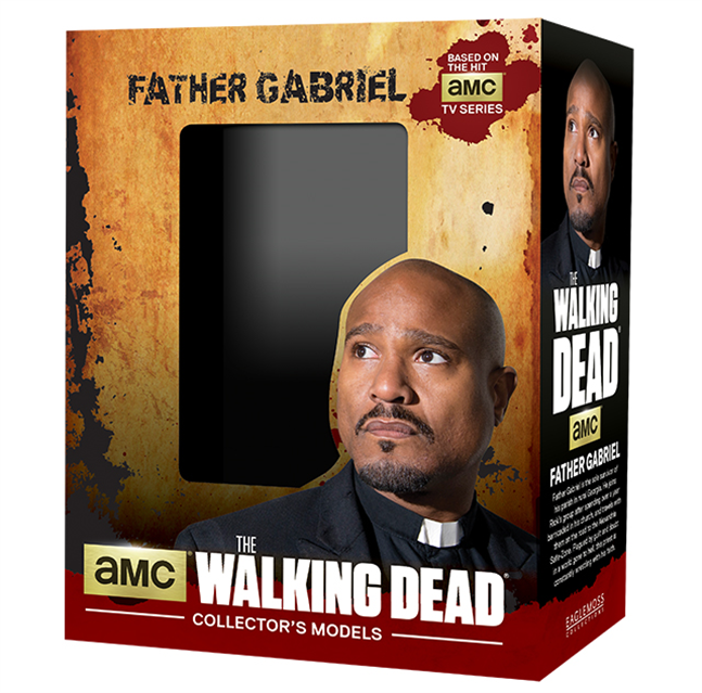 WALKING DEAD - Figurine Collection 1/21 - Father Gabriel_4