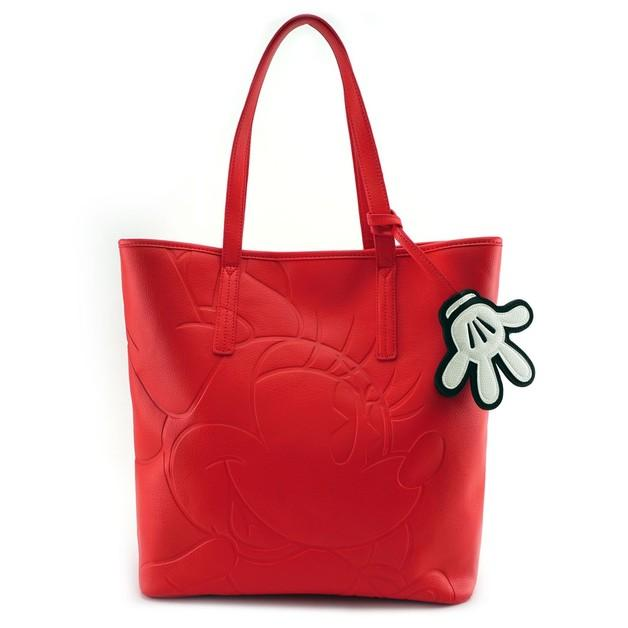 DISNEY - Minnie Red Tote Bag 'LoungeFly'_1