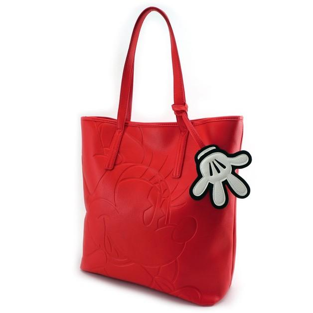 DISNEY - Minnie Red Tote Bag 'LoungeFly'_3