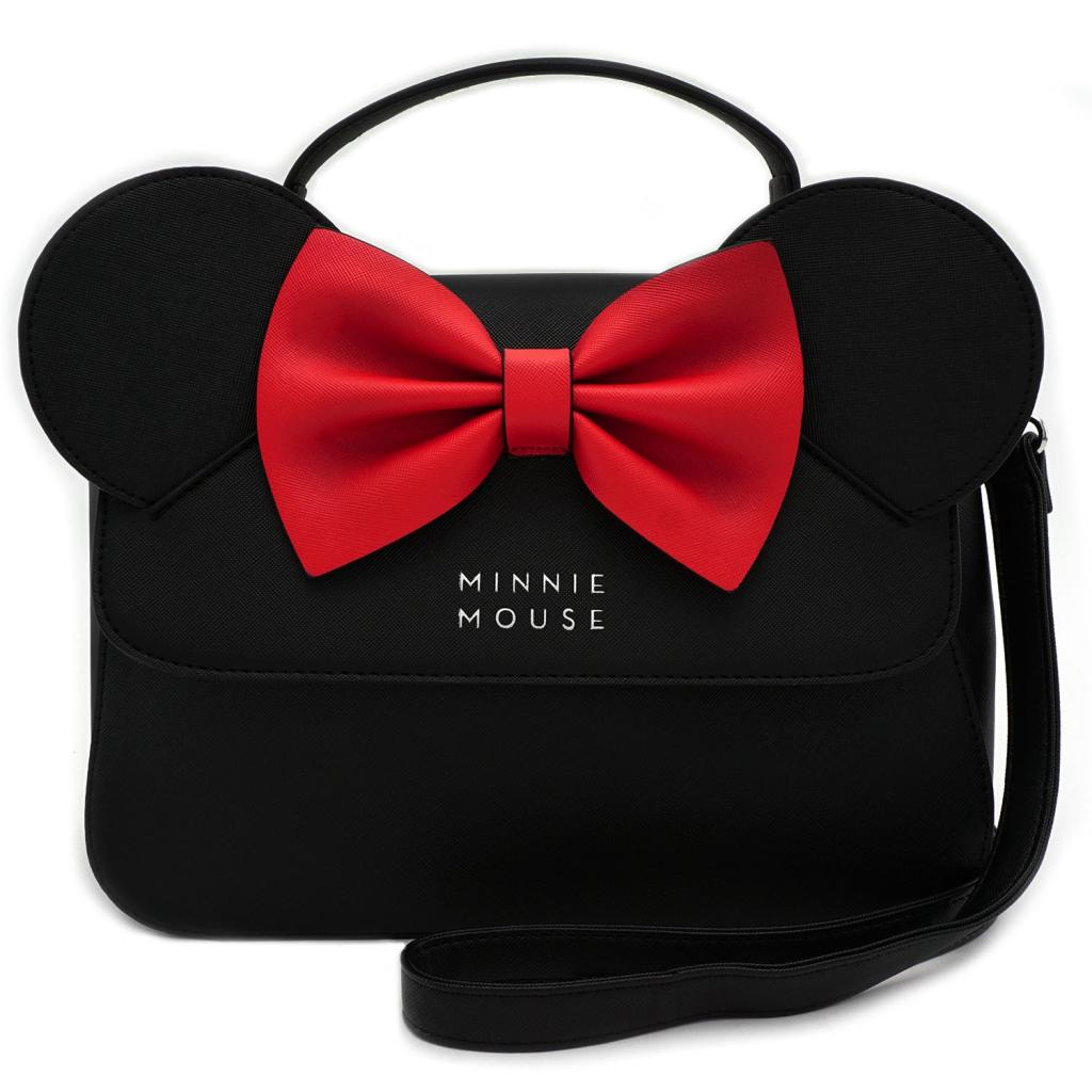 DISNEY - Minnie Ears & Bow Crossbody Bag 'LoungeFly'