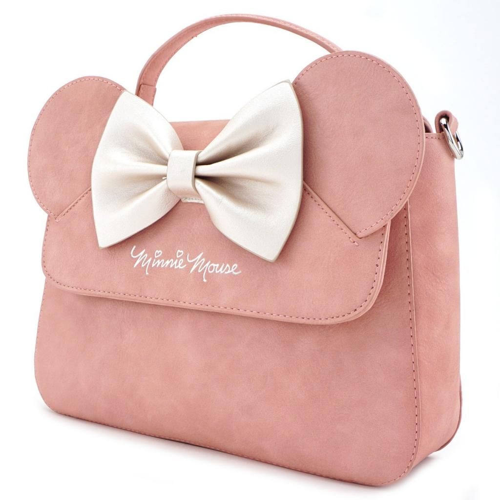 DISNEY - Minnie Ears & Bow Pink Crossbody Bag 'LoungeFly'_2