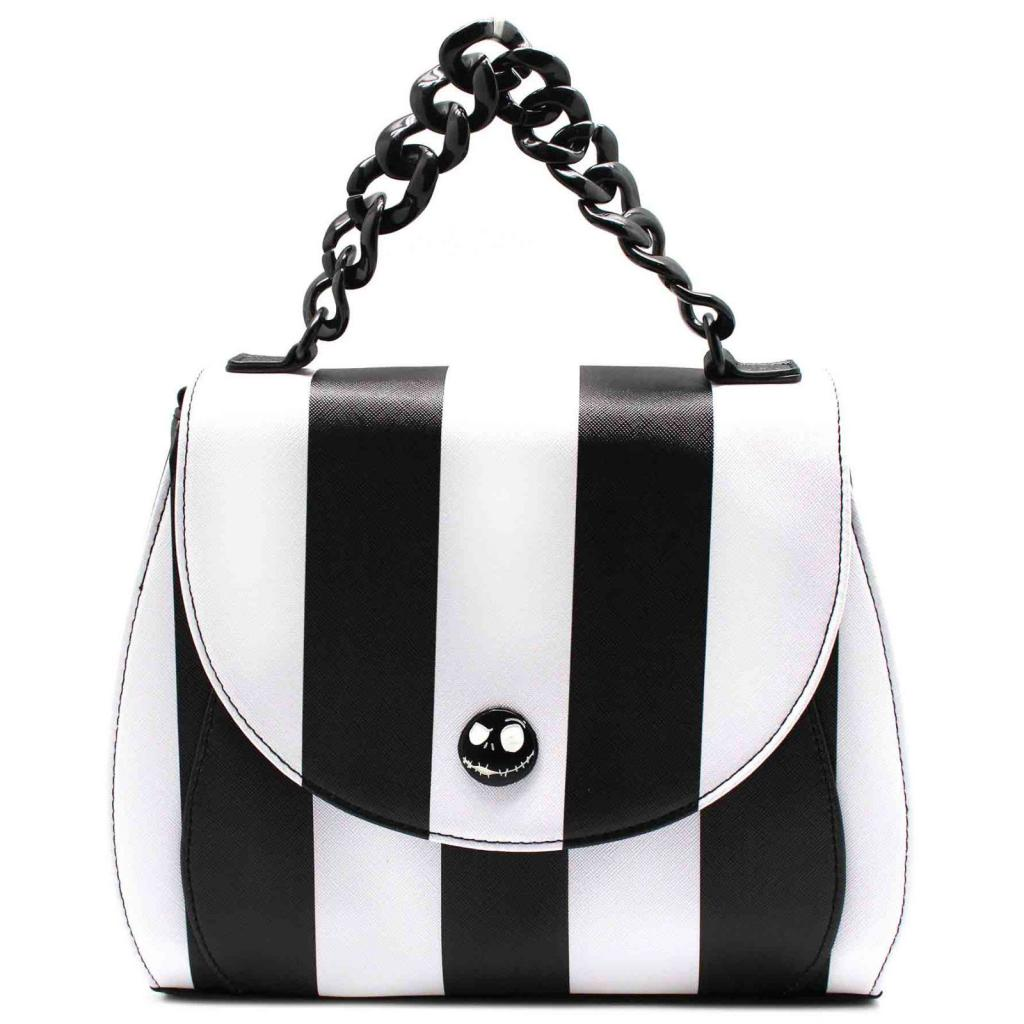 DISNEY - NBC Striped Saddle Xbody Bag 'LoungeFly'