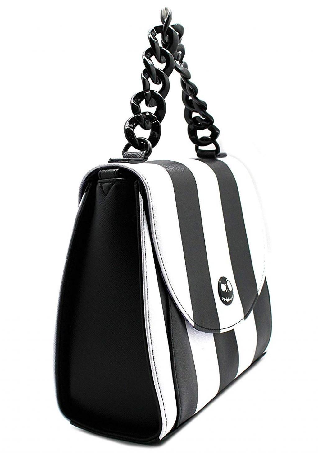 DISNEY - NBC Striped Saddle Xbody Bag 'LoungeFly'_2