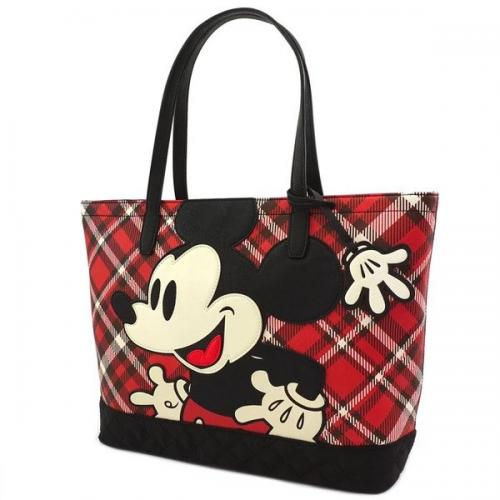DISNEY - Mickey Mouse - Sac à main 'LoungeFly'