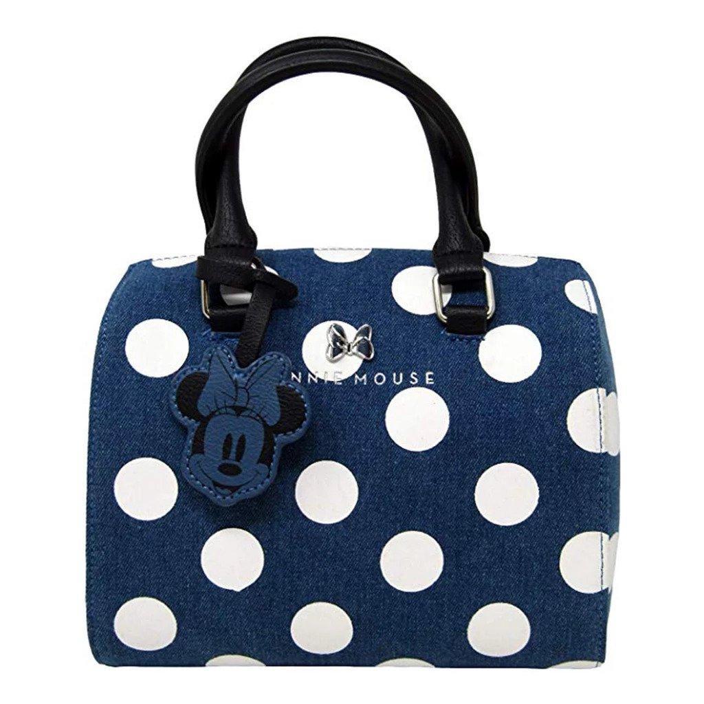 DISNEY - Minnie Mouse Denim Cossbody Bag 'LoungeFly'