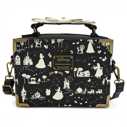 DISNEY - Sac bandoulière Disney Princess AOP 'LoungeFly'