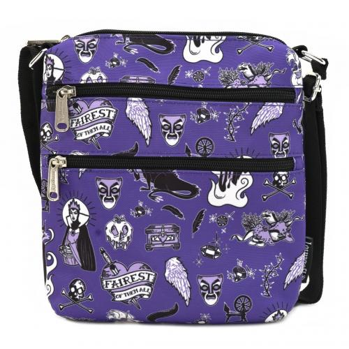 DISNEY - Villains Icons - Sacoche 'LoungeFly'