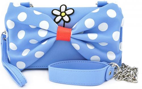 DISNEY - Minnie Mouse Crossbody Bag 'LoungeFly'