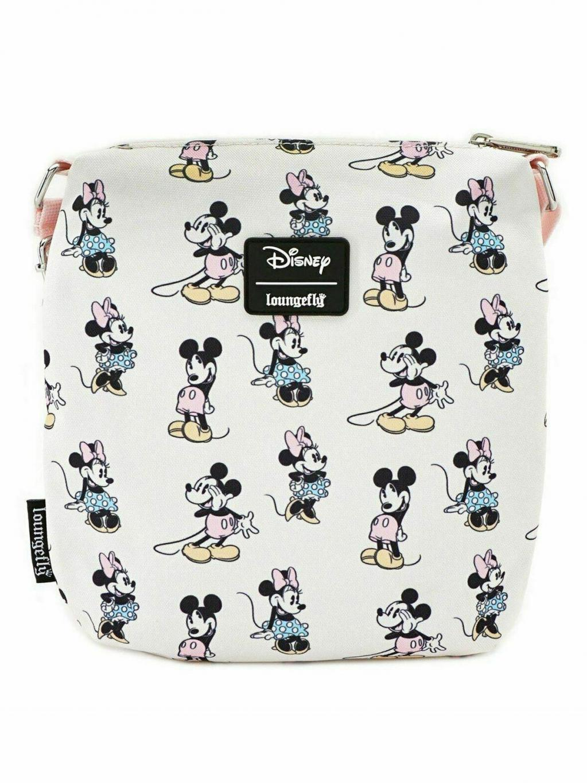 DISNEY - Pastel Minnie Mickey Nylon Passport 'LoungeFly'_2
