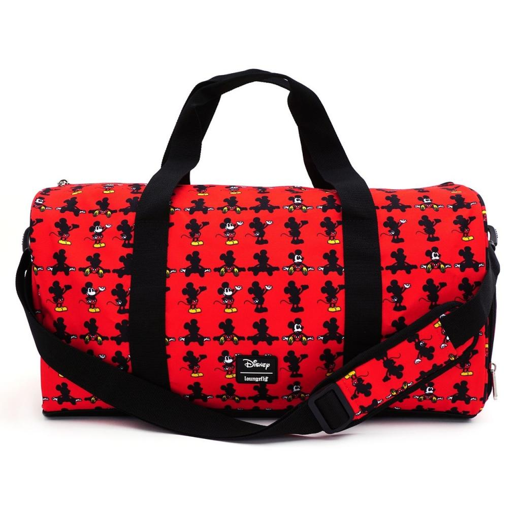 DISNEY - Mickey Parts Nylon Duffle Bag 'LoungeFly'