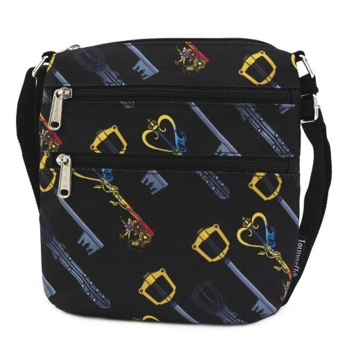 KINGDOM HEARTS - Keys Nylon Passport 'LoungeFly'