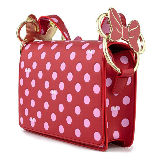 DISNEY - Minnie Mouse Pink Polka - Sac bandoulière Loungefly '24x18x5'_2