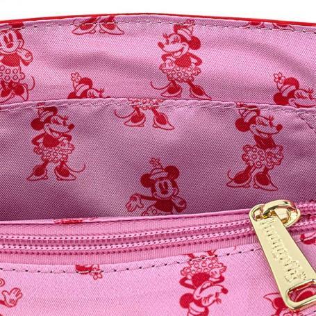 DISNEY - Minnie Mouse Pink Polka - Sac bandoulière Loungefly '24x18x5'_3