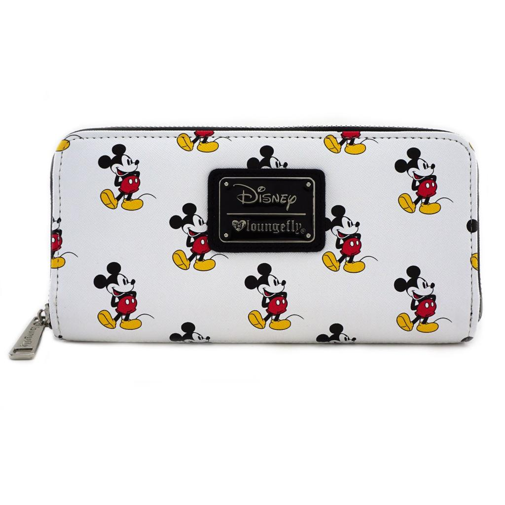 DISNEY - Mickey Print Wallet 'LoungeFly'