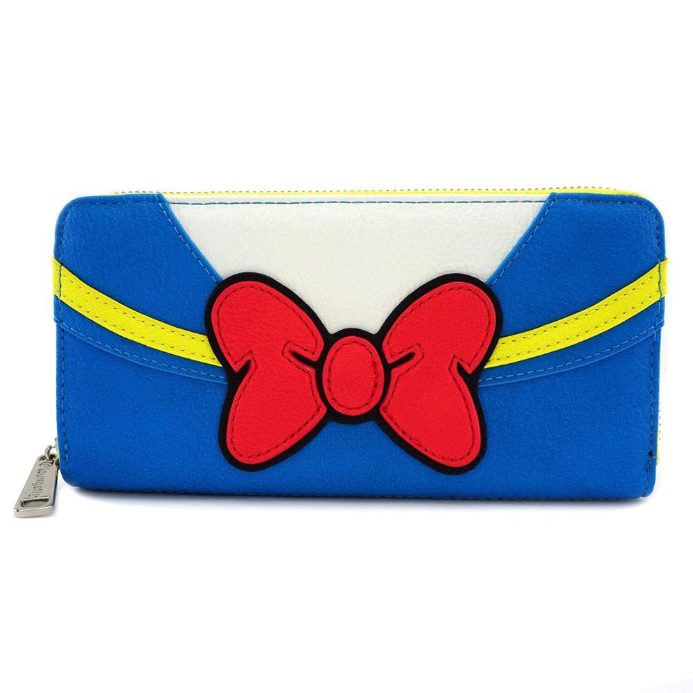 DISNEY - Donald Duck Zip Around Wallet 'LoungeFly'