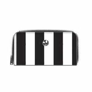 DISNEY - NBC Striped Saddle Wallet 'LoungeFly'