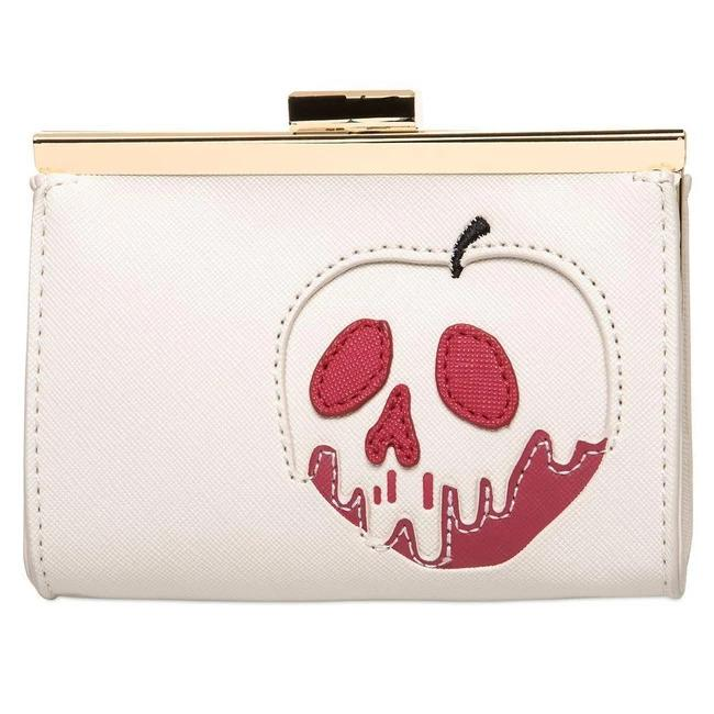 DISNEY - Portefeuille Snow White Bad Apple 'LoungeFly'_1